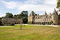 Façade du château de Tocqueville, Tocqueville, France-3.jpg