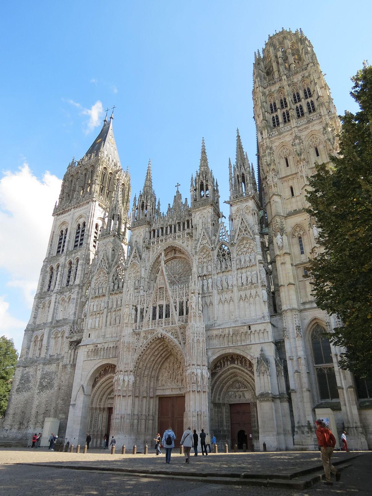 Cath Drale Notre Dame De Rouen Wikip Dia