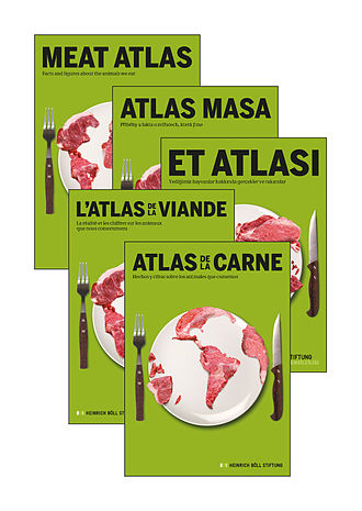 Meat Atlas - publication in different languages