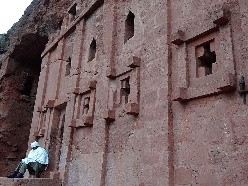 File:Facade of Bet Abba Libanos Rock-Hewn Church - Southeastern Cluster - Lalibela - Ethiopia - 02 (8729956537).jpg