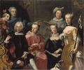 Family Group (Martin van Meytens d.y.) - Nationalmuseum - 20193.tif