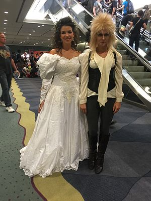 Labyrinth (film) - Cosplay at Fan Expo Canada 2016 in Toronto.