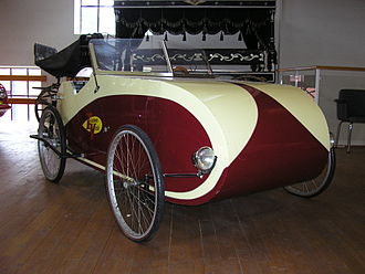 Velomobile - A two-seat open-top Fantom