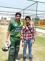 Farid Khan with Misbah-ul-Haq in Abbottabad.jpg