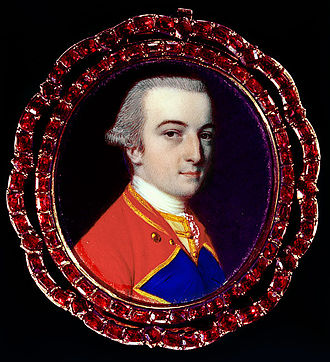 Fauquier County, Virginia - Portrait of Francis Fauquier, for whom Fauquier County was named