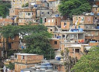 Cantagalo–Pavão–Pavãozinho Neighborhood in Rio de Janeiro, Rio de Janeiro (RJ), Brazil