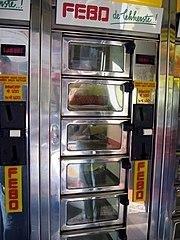 The 'automatiek' is a typical Dutch vending machine.