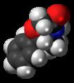 Fenmetramide molecule spacefill.png