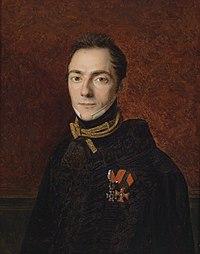 Ferdinand Georg Waldmüller Portrait eines Grafen Apponyi 1827.jpg