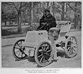 Fernand Charron, vainqueur de Marseille-Hyères-Nice en mars 1898, sur Panhard type Marseille-Nice.jpg