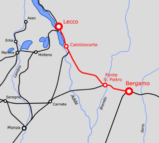 Lecco–Bergamo railway