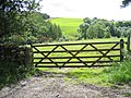 Field gate and view towards Kirkby Beck - geograph.org.uk - 719210.jpg