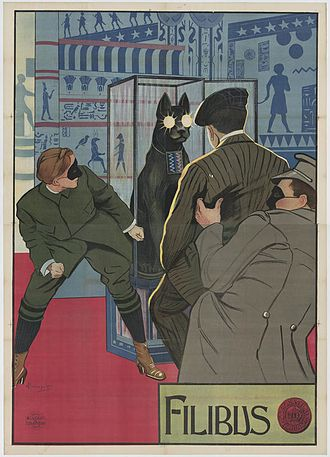 Filibus - Filibus stages the diamond theft, as shown on a contemporary poster for the film