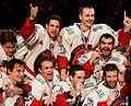 Finale de la coupe de France de Hockey sur glace 2013 - Remise des médailles 05.jpg