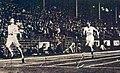 Finale du 400 mètres aux JO de 1924, Eric Liddell l'emporte devant Horatio Fitch.jpg