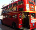 First London Routemaster RM1218 (218 CLT) heritage route 9 Piccadilly 14 October 2007.jpg
