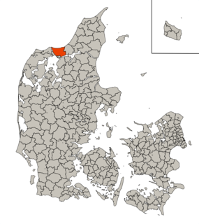 Fjerritslev Municipality Former municipality in Denmark