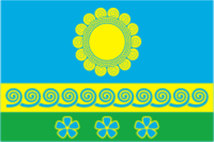 Kimrsky District - Image: Flag of Kimrsky rayon (Tver oblast)