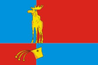 Monchegorsk - Image: Flag of Monchegorsk (Murmansk oblast)