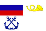 Flag of Russian Postal vessels 1853 (Baltic Sea).png
