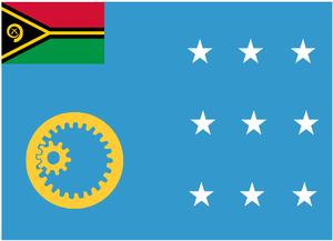 Autonomous administrative division - Image: Flag of Sanma