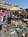Flea market at Zamkowy Square in Lublin, Aug 2019, 09.jpg