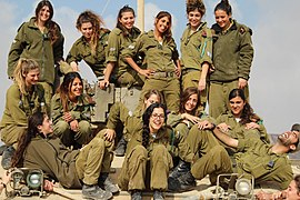 israeli soldiers Female