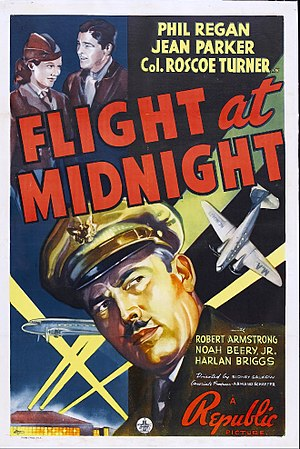 Flight at Midnight - Theatrical release poster