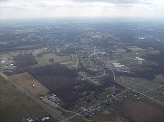 Georgetown, Ohio - Image: Flying over Georgetown