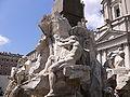 Fontana dei Quattro Fiumi (in detail).JPG