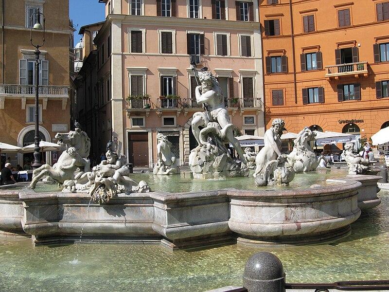 Файл:Fontana del Nettuno-Piazza Navona-Rome.jpg