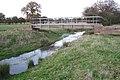 Footbridge across Inchford Brook near Bannerhill Farm - geograph.org.uk - 1589362.jpg