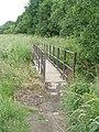 Footbridge over Beck - end of Victoria Road - geograph.org.uk - 1386558.jpg