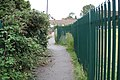 Footpath behind Masters Road, Whitnash - geograph.org.uk - 1452103.jpg