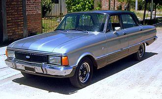 Ford Falcon (Argentina) - 1978 Ford Falcon Sprint