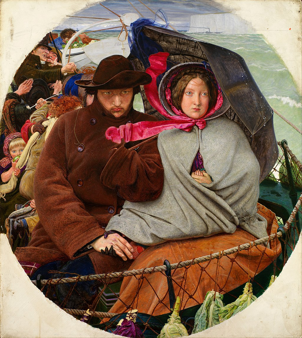 """The Last of England"" by Ford Madox Brown"