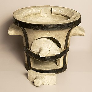 Fire clay - Furnace in fire clay.