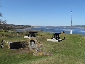 Monarchy in Nova Scotia - Image: Fort Anne View Of Basin 2009