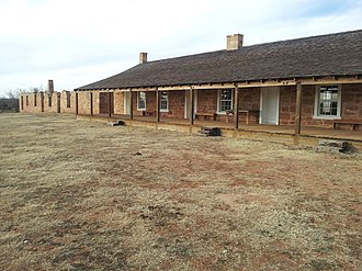 Fort Chadbourne - Fort Chadbourne barracks