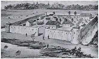 Military of New France - Virtual Museum of Canada Fort Lachine (1913)