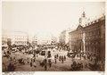 Fotografi, vy över Puerta del Sol, Madrid - Hallwylska museet - 107265.tif