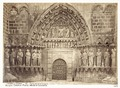 Fotografi av Burgos. Catedral, puerta alta de la Coroneria - Hallwylska museet - 105346.tif