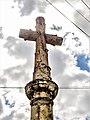 Fournets-Luisans. , Détail de la croix de Grandfontaine.jpg