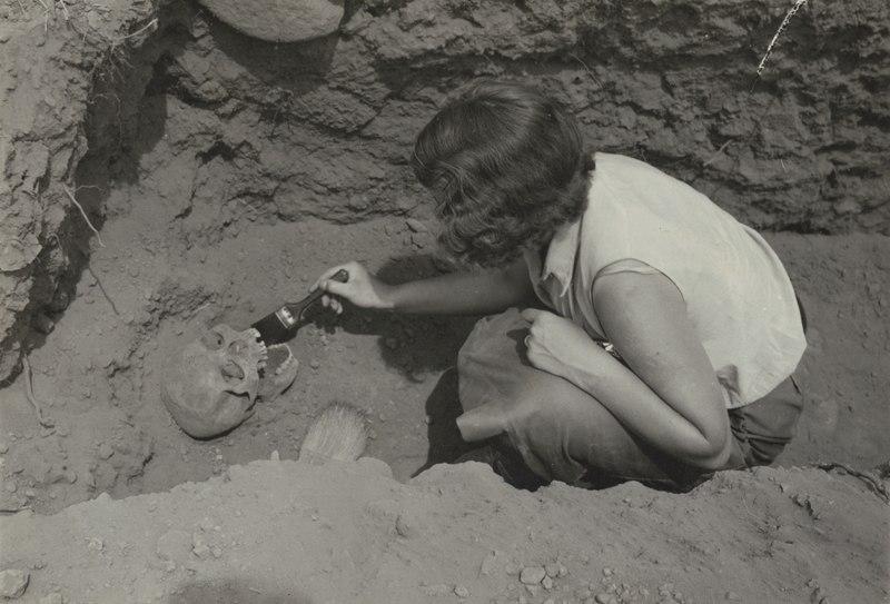 Från utgrävningarna vid Thomas Palmas hus - SMVK - 0307.a.0038