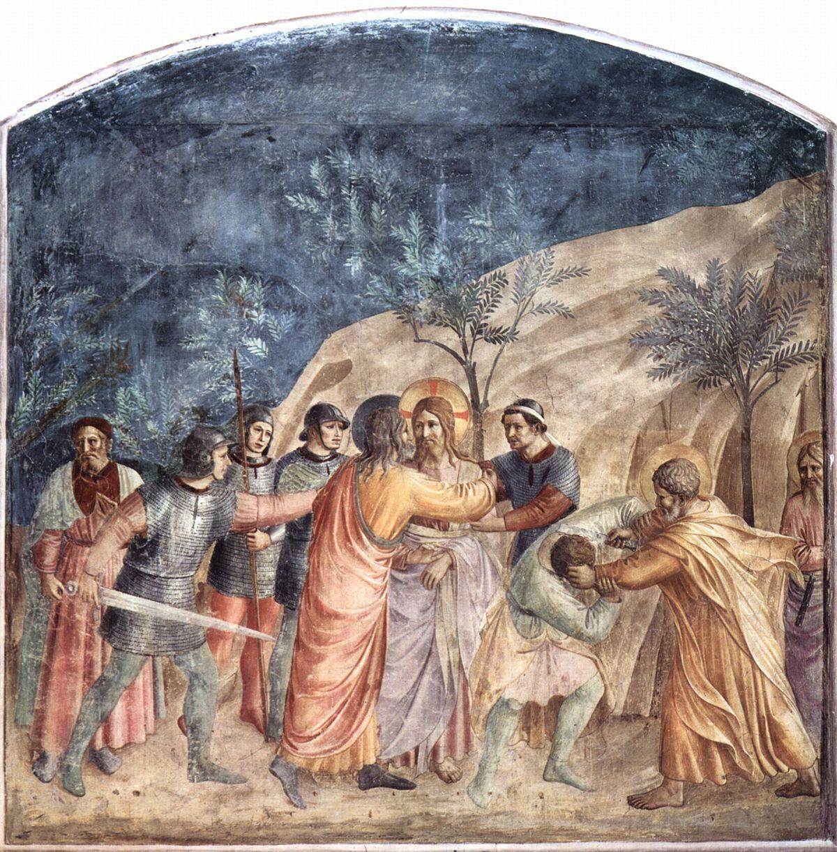 Prendimiento de Jesús - Wikipedia, la enciclopedia libre
