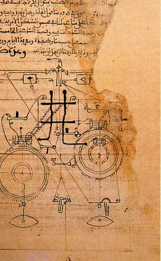 Al-Muradi - Fragment of The Book of Secrets in the Results of Thoughts. 11th century