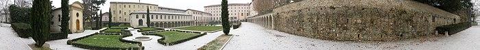 Les jardins du musée de la chaussure
