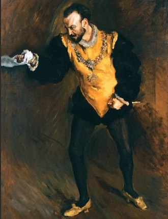 Francisco D'Andrade - Image: Francisco D'Andrade as Don Giovanni by Max Slevogt, 1903