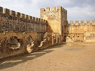 Frangokastello - Inside the castle