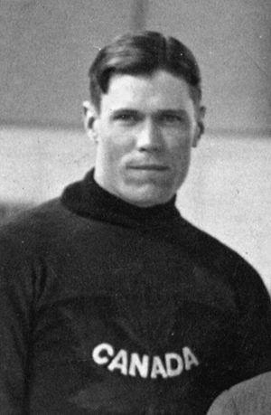 Frank Fredrickson - Frank Fredrickson representing Canada at the 1920 Summer Olympics.